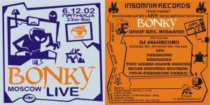 Bonky live