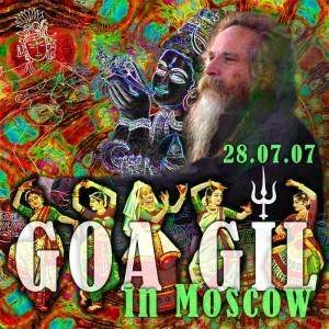 Goa Gil in Moscow