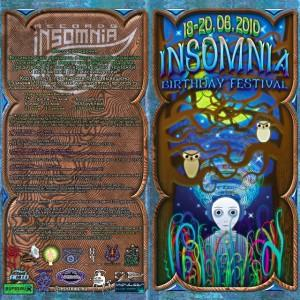Insomnia birthday festival